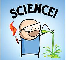 Science nerd  Photographic Print