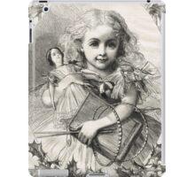 Victorian Child Christmas Presents 1862 iPad Case/Skin
