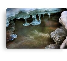 Coupall Icicles (2) Canvas Print