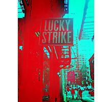 Lucky Strike Photographic Print