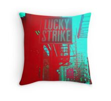 Lucky Strike Throw Pillow