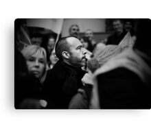 A Face In The Crowd Canvas Print