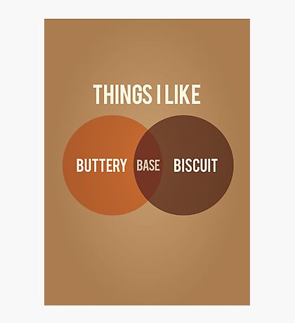 Buttery Biscuit Base Photographic Print