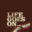 Life goes on iCase by Naf4d