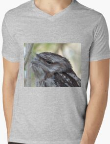 Frogmouth. Mens V-Neck T-Shirt