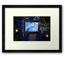 Empire of Light (Magritte) Framed Print