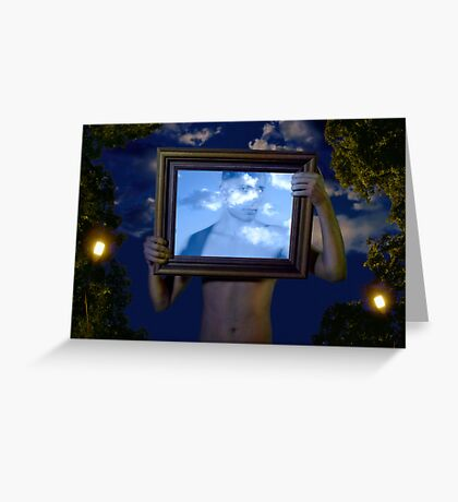Empire of Light (Magritte) Greeting Card