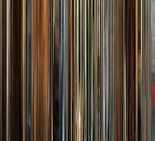 Moviebarcode: Ocean's Twelve (2004) by moviebarcode