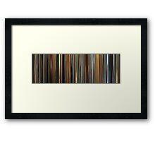 Moviebarcode: Ocean's Twelve (2004) Framed Print