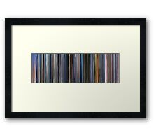 Moviebarcode: The Cell (2000) Framed Print