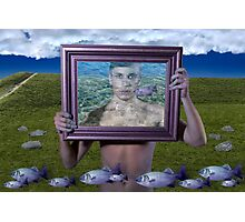 Flying Fish (Magritte) Photographic Print