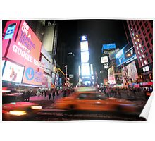 Times Square - New York - United States Poster