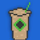 8-Bit Iced Latte by itsmattb
