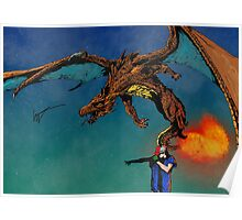 GO CHARIZARD Poster