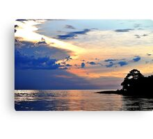 Bayport at Sunset Canvas Print