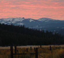 Whitney - Sunset on Greenhorn Peak by BettyEDuncan