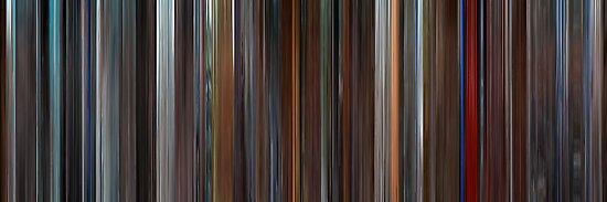 Moviebarcode: The Aviator (2004) by moviebarcode