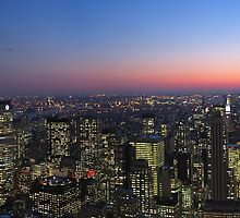 New york skyline by twebster92