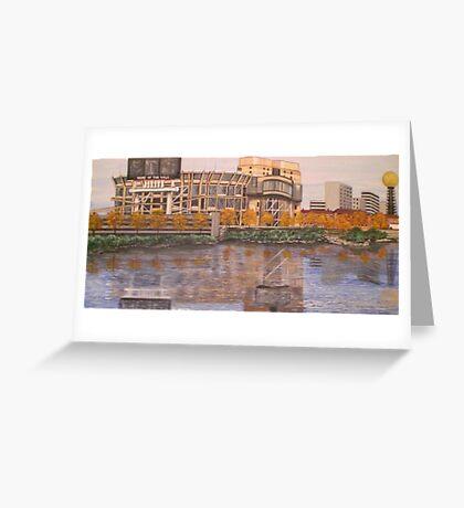 UT NEYLAND STADIUM Greeting Card