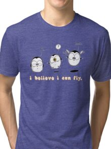 I Believe I Can Fly Tri-blend T-Shirt