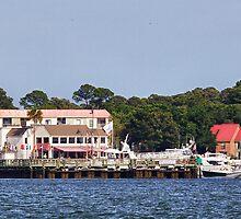 Harbor Town on Hilton Head Island by jimcrotty