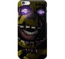Creepy Springtrap design (FNAF) iPhone Case/Skin