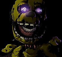 Creepy Springtrap design (FNAF) Photographic Print