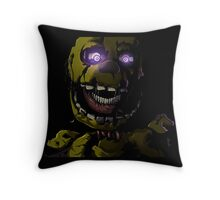 Creepy Springtrap design (FNAF) Throw Pillow
