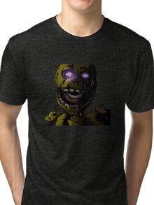 Creepy Springtrap design (FNAF) Tri-blend T-Shirt