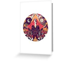 Much Abstract Ritual Greeting Card