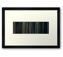 Moviebarcode: Super 8 (2011) Framed Print