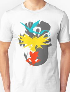 Articuno Moltres and Zapdos T-Shirt