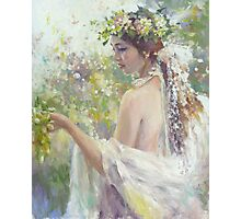 Goddess of good harvest Photographic Print