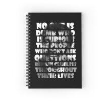 Neil deGrasse Tyson Spiral Notebook