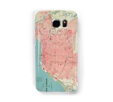 Vintage Map of Buenos Aires Argentina (1888) Samsung Galaxy Case/Skin