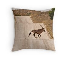 Oryx Antelope Throw Pillow
