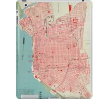 Vintage Map of Buenos Aires Argentina (1888) iPad Case/Skin