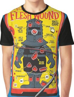 "The ""It's Just A Flesh Wound"" Game Graphic T-Shirt"