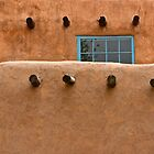 Old Adobe, Santa Fe, NM by Mark Bankins