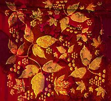 Golden Paisley Leaves by PrivateVices