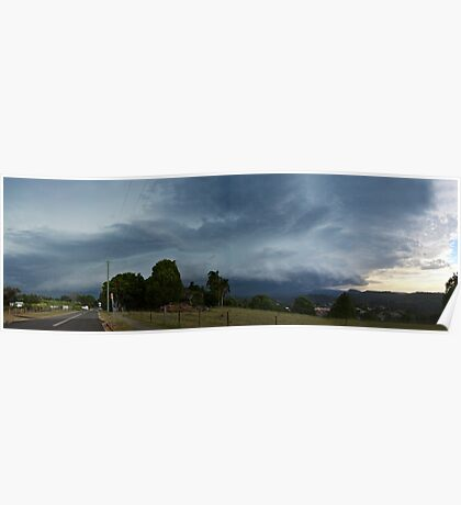 The Coming Storm panorama Poster