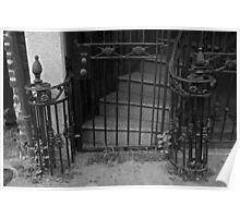 French Quarter Wrought iron Poster