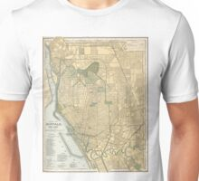 Vintage Map of Buffalo New York (1891) Unisex T-Shirt