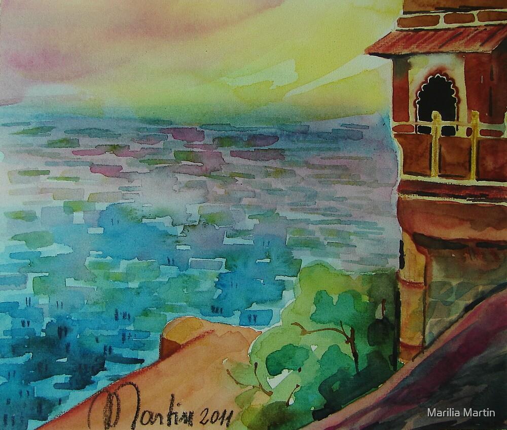THE BLUE CITY by Marilia Martin