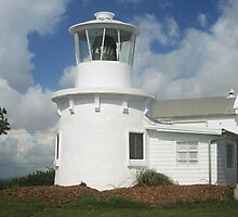 Replica of the 1880 Yamba Lighthouse by Peter Bodiam