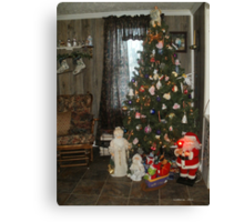 The Christmas spirit is in our home 2011... Canvas Print