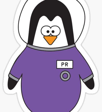HUB Penguin Sticker