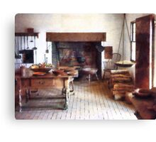 Colonial Kitchen Canvas Print