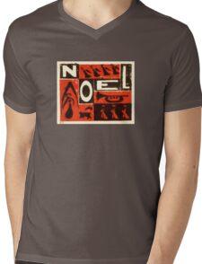 Noel Red Mens V-Neck T-Shirt