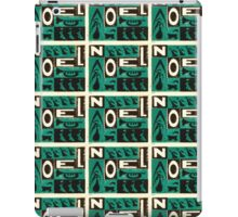Noel Green iPad Case/Skin